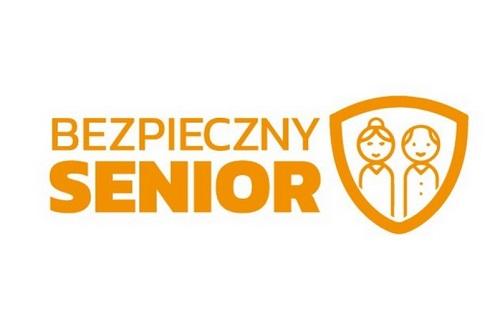 obrazek z napisem bezpieczny senior