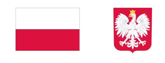 godło i flaga Polski